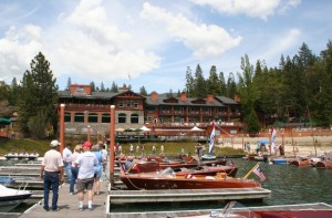 Bass Lake Antique and Wooden Boat Show at the Pines Resort