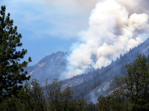 July 26, 2015 Willow fire and Seven 7 rock
