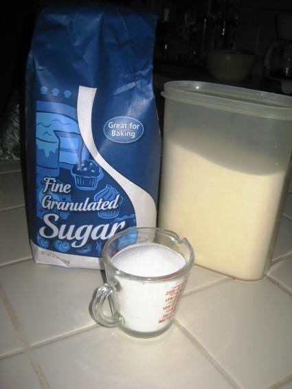 Sugar and water=Hummingbird food